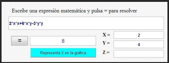 Calculadora Expresiones