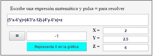 Expresiones algebraicas ESO